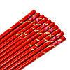 Палочки для суши красные с журавлями 5 пар 09, фото 2