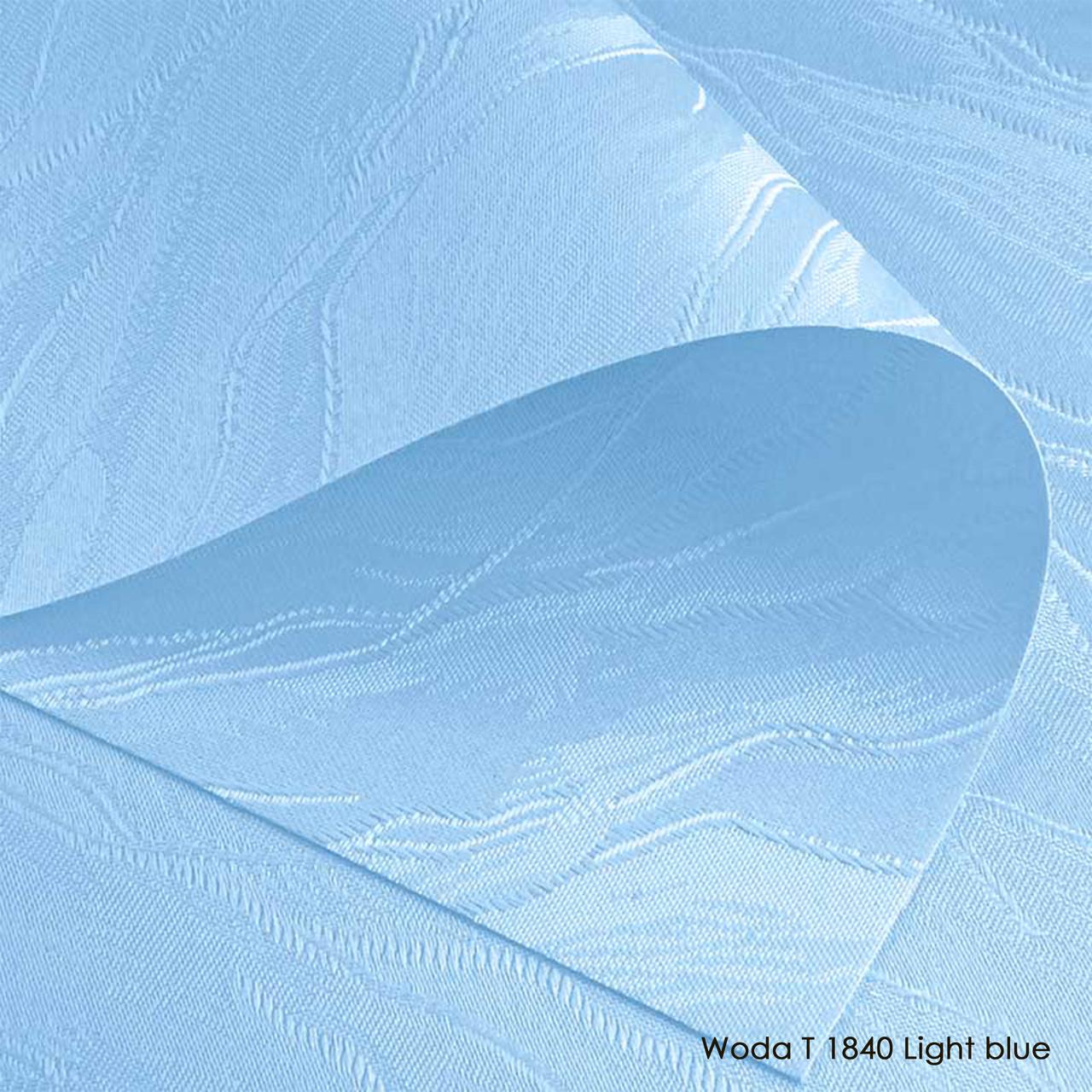 Тканинні ролети Woda T 1840 Light blue