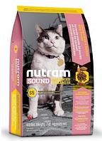 Корм для кошек холистик NUTRAM (Нутрам) Sound Balanced Wellness Adult/Urinary Cat, 320 г