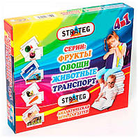 "Гр Розумник ""4 в 1"" 430/30300 укр. (10) ""STRATEG"""
