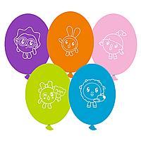 """Латексные шары 12"""" (50 шт) Gemar Италия Малышарики (30 см)"""