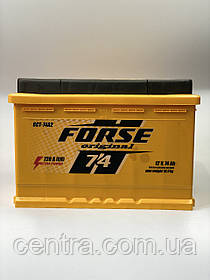 Автомобільний акумулятор FORSE Original (Ista) 6СТ-74 R+ 720A