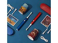 Xiaomi Soocas X3U Van Gogh Museum Design Sonic Red Звуковая электрическая зубная щетка, фото 8