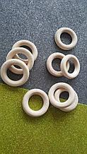 Кільце дерев'яне для макраме, слінгобус 4,2 см