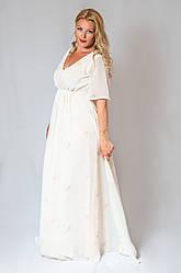 Женское вечернее платье в пол (50-60) 8024