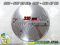Оригинальный режущий диск 33 см к корморезке Зубренок (нержавейка)