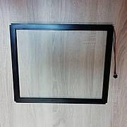 Сенсорное стекло ИК17 3мм, уличного типа, тачскрин, инфрокрасное сенсорное стекло, IR, сенсорный монитор