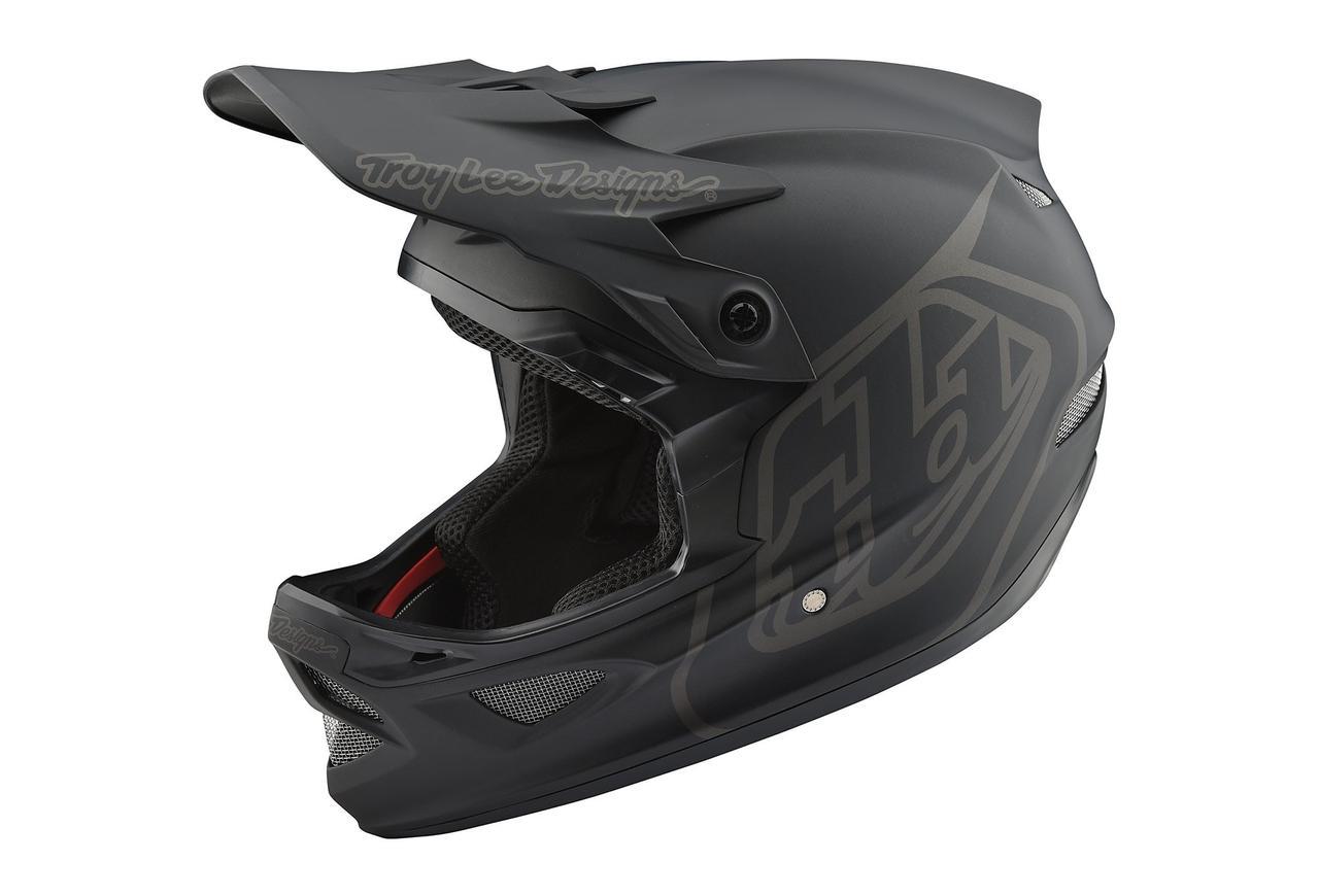 Вело шлем TLD D3 Fiberlite [MONO Black] M