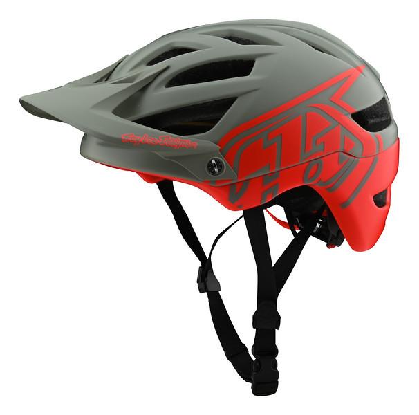 Вело шлем TLD A1 Mips Classic [Orange/Gray] размер XS