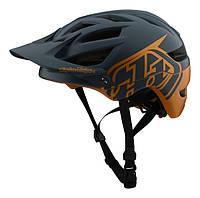 Вело шлем TLD A1 Mips Classic [Gray/Gold] размер SM, фото 1