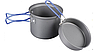 Кастрюля-кружка 0,9 л.Tramp анодированная с крышкой-сковородкой Артикул TRC-039