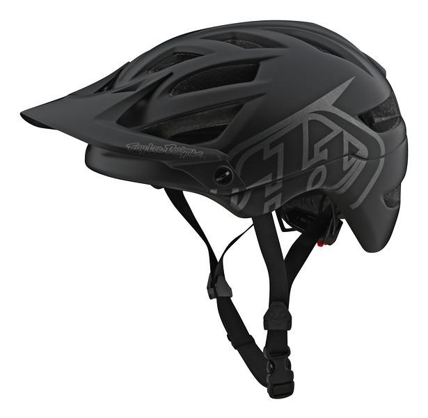 Вело шлем TLD A1 Classic Drone [Black/Silver] размер SM