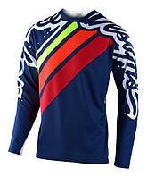 Джерси TLD Sprint Jersey [Seca 2.0 Navy/Red] размер MD