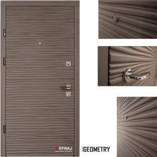Дверь входная металлическая Straj,  Брезза,Berez Premium,Mottura,Софт Грей ,850х2040 ,левая
