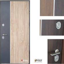 Дверь входная металлическая Straj, Party BZ ,Proof Standart, MUL-T-LOCK,Дуб полярный ,860х2040 ,левая