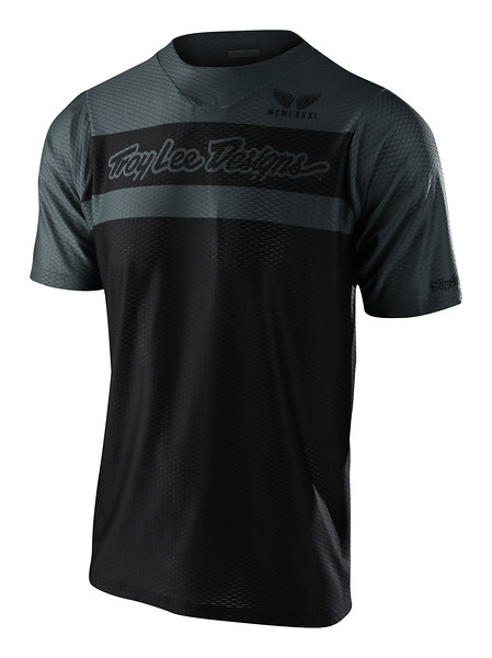Джерси TLD Skyline Air S/S Jersey [Factory Black/Gray] размер LG