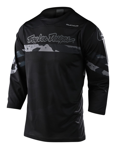 Джерси TLD Ruckus 3/4 Jersey [Factory Black/Gray] размер XL