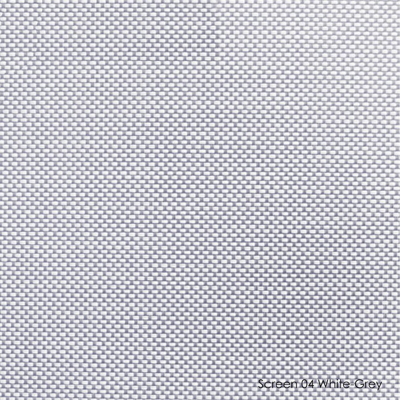 Тканинні ролети Screen-04 white / grey