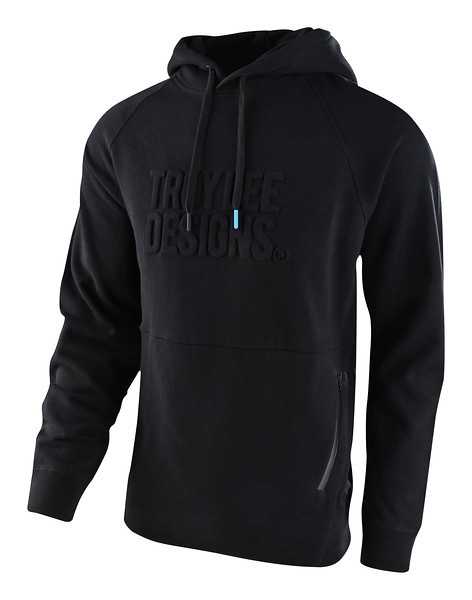 Худи TLD Blackout Embossed PO Hoodie (Black) размер SM