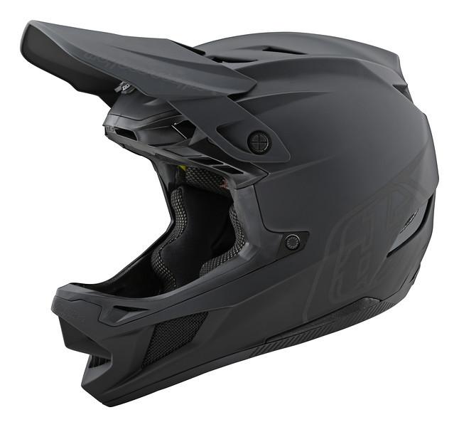 Вело шлем фуллфейс TLD D4 Composite [Stealth Black/Gray] размер LG