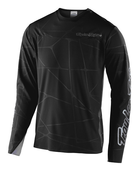 Джерси TLD Sprint Ultra Jersey [Podium Black/Silver] размер XL