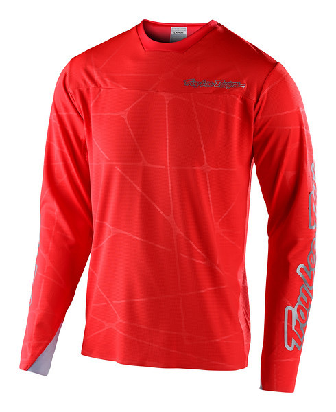 Джерси TLD Sprint Ultra Jersey [Podium Red/Silver] размер MD