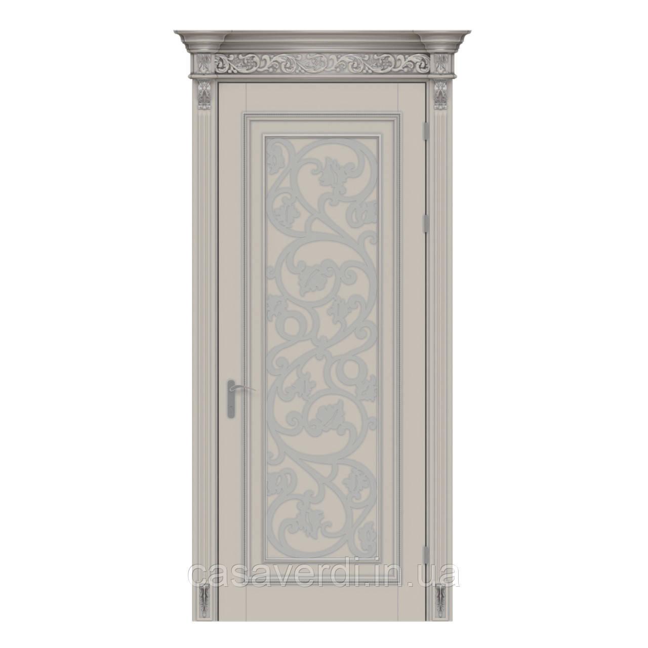 Міжкімнатні двері Casa Verdi Art Deco 2 з масиву вільхи