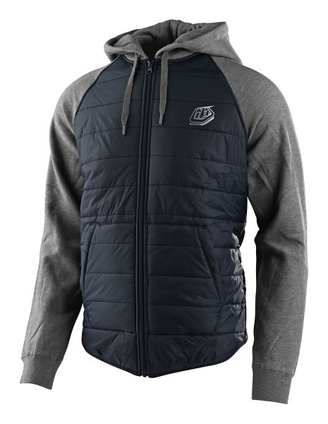 Куртка TLD Racing Quilted Zip Up Hoodie (Navy) размер XL
