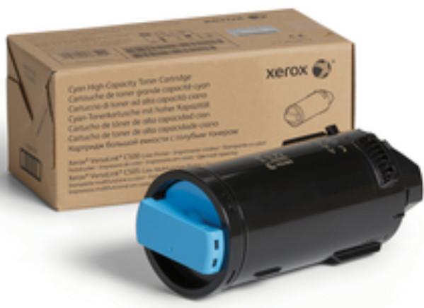 Тонер-картридж Xerox VersaLink C500/C505 Cyan 5200 страниц