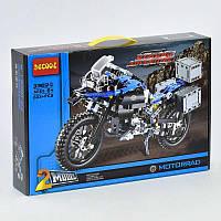 """Конструктор 3369 А (12/2) """"Мотоцикл"""",  603 дет, в коробке"""