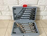 Набор рожково-накидных ключей с трещеткой  LEX 1578 | 12шт