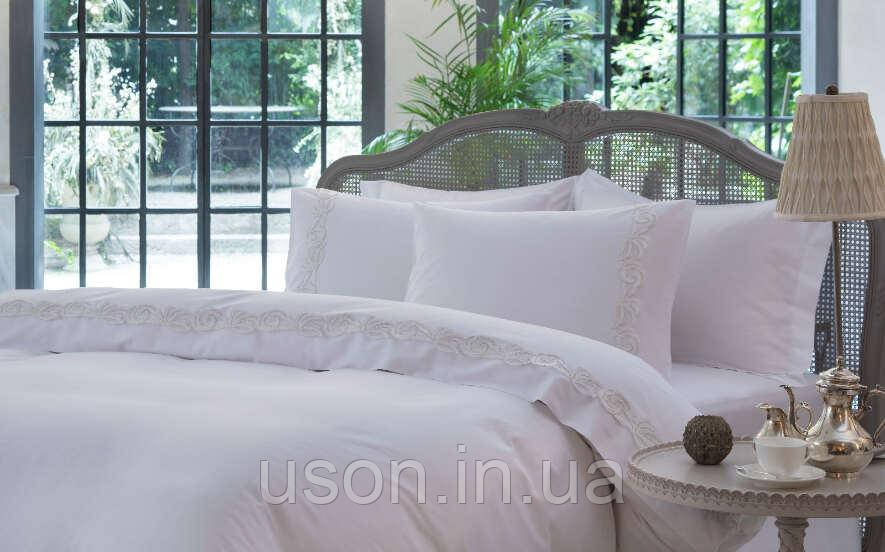 Комплект постельного белья сатин люкс Pepper home 200*220 Grace