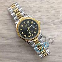 Наручные часы Rolex Date Just New Silver-Gold-Black