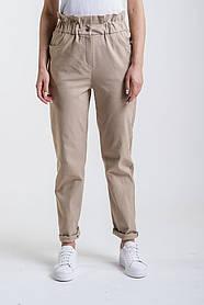 Жіночі укорочені брюки (Бежеві)