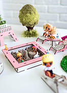 """""""Детская площадка"""" набор кукольной мебели NestWood для LOL, розовый, фото 6"""