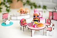 """""""Кухня+ванная"""" набор кукольной мебели NestWood для LOL, розовый, фото 5"""