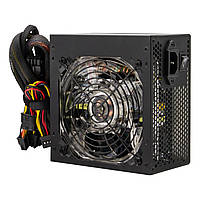 Блок питания Logicpower ATX-500W, 12см LED Fan, 2хIDE, 3хSATA, 8Pin(4+4), 8Pin(6+2), 24Pin, OEM, без каб.пит.