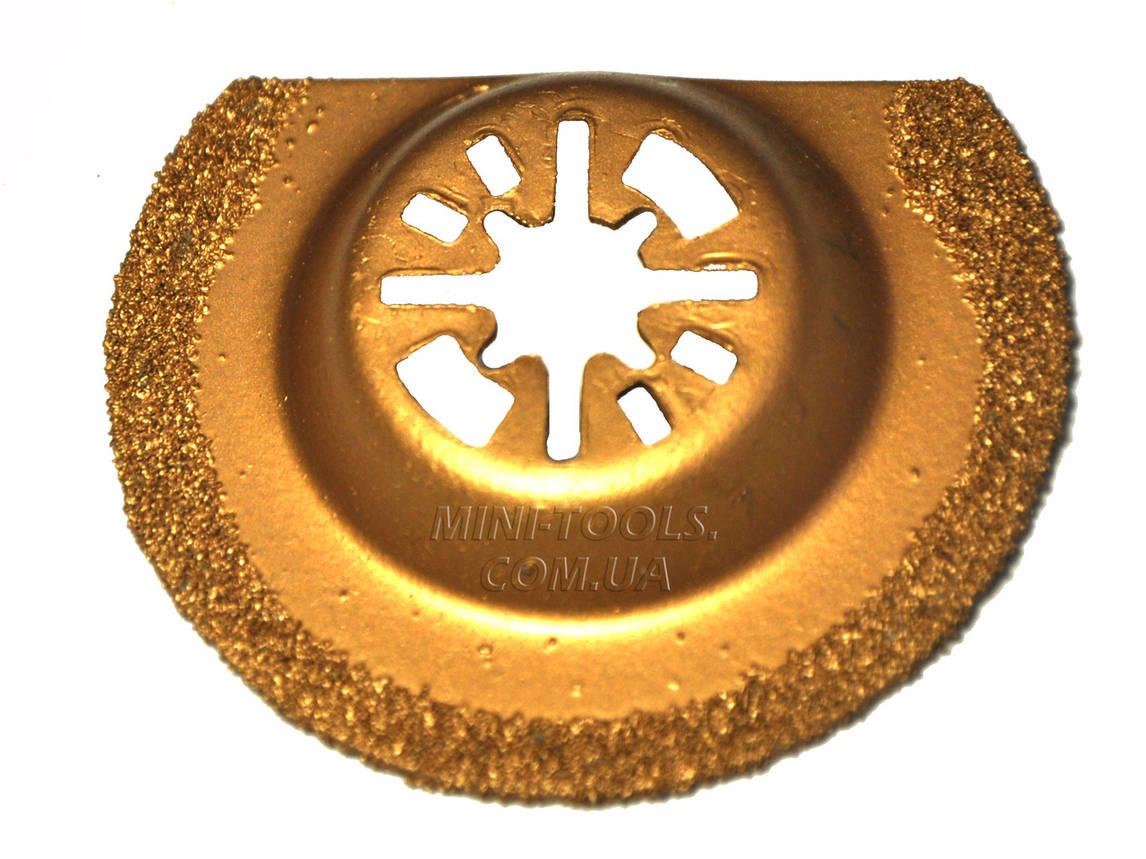 Пила-насадка для реноватора Ø 65 мм для керамики., фото 2