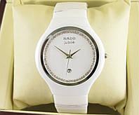 Часы RADO TRUE THINLINE DIMONDS 40mm Quartz White/Silver. Реплика: ААА., фото 1
