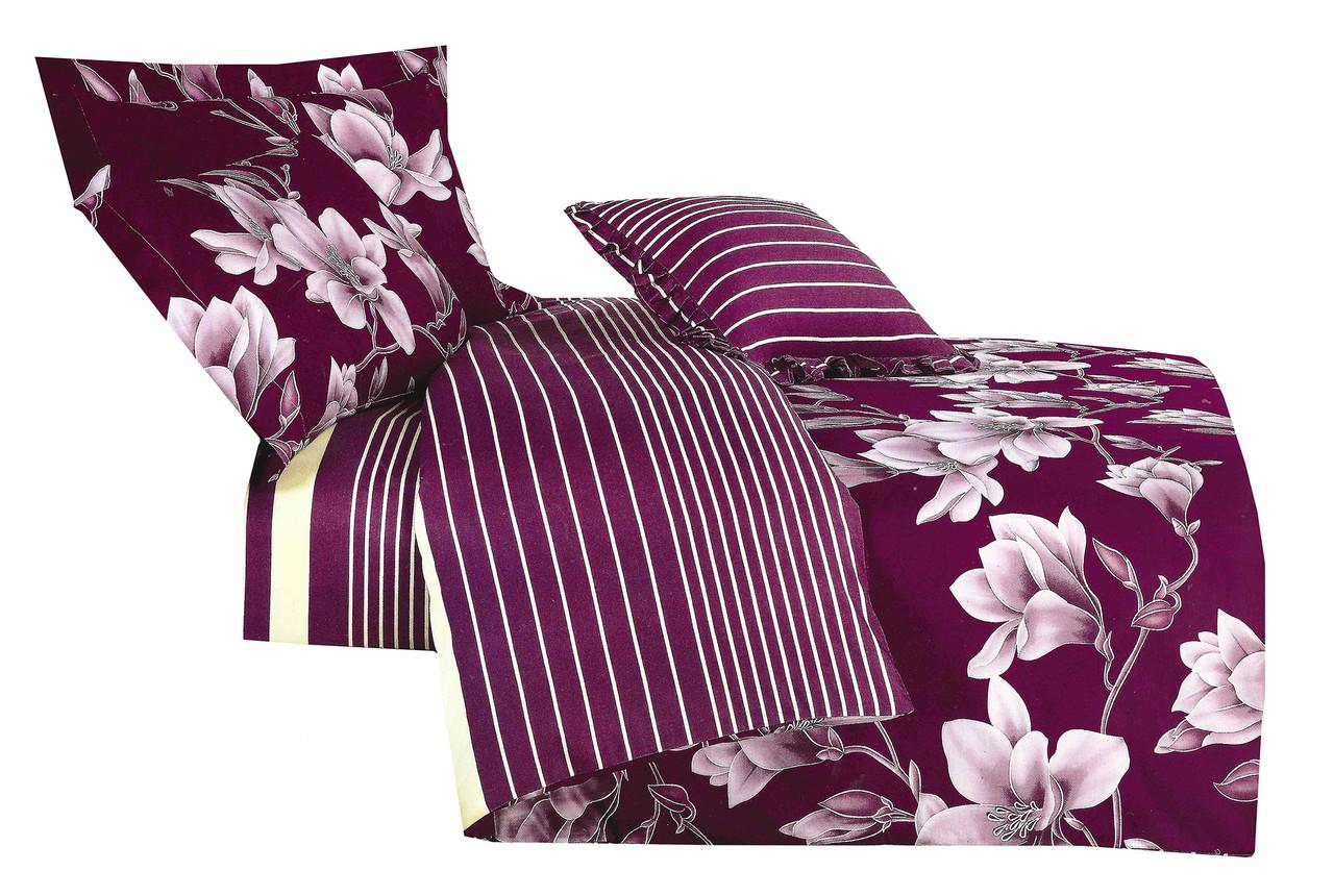 Комплект постельного белья 3D Хлопковый Сатин 048 Collection World 2260