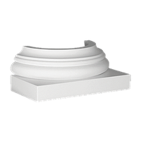 База декоративної колони з поліуретану Європласт 1.17.500