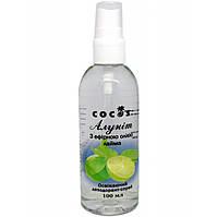 Алунит Cocos с эфирным маслом Лайма (дезодорант-спрей) 100 мл