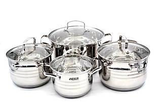 Набор посуды 8 предметов - Benson BN-202