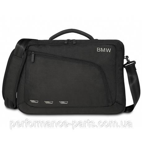 Сумка BMW Modern Messenger Bag, Black, артикул 80222365441