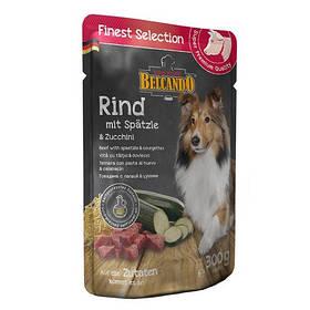 BELCANDO консервы для собак говядина, лапша и цукини, 0,3кг