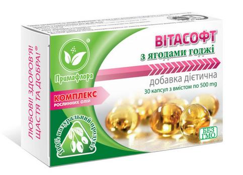 Витасофт с ягодами годжи (обмен веществ, нормализация веса)