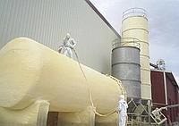 Утепление промышленных резервуаров минеральными плитами и пенополиуретаном ППУ