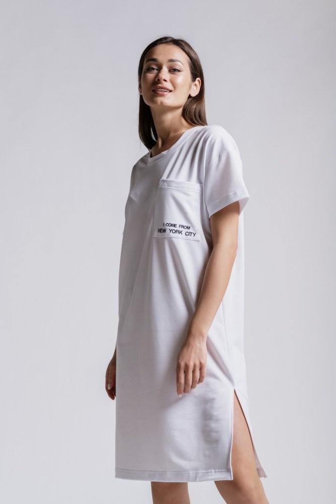 Жіноча біле спортивне плаття