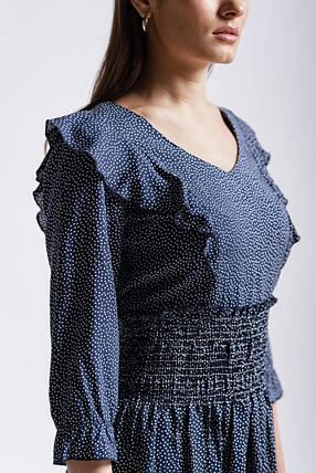 Платье женское летнее (Синий), фото 2