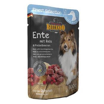 Консерва BELCANDO для собак утка с рисом и брусникой, 0,3 кг
